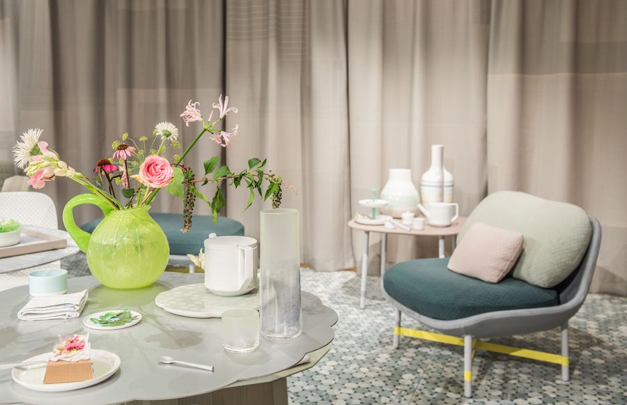 Scholten Baijings TIME FOR TEA installation @ Fortnum & Mason - Photo by Charles Emerson Courtesy of London Design Festival.