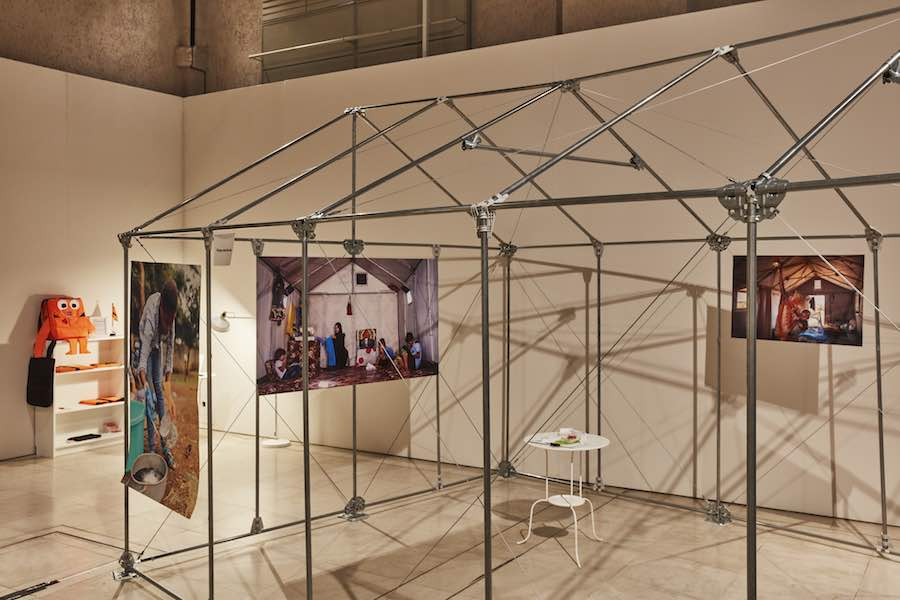 London Design Festival 2018. Refugee Pavilion: photo by Ed Reeve.