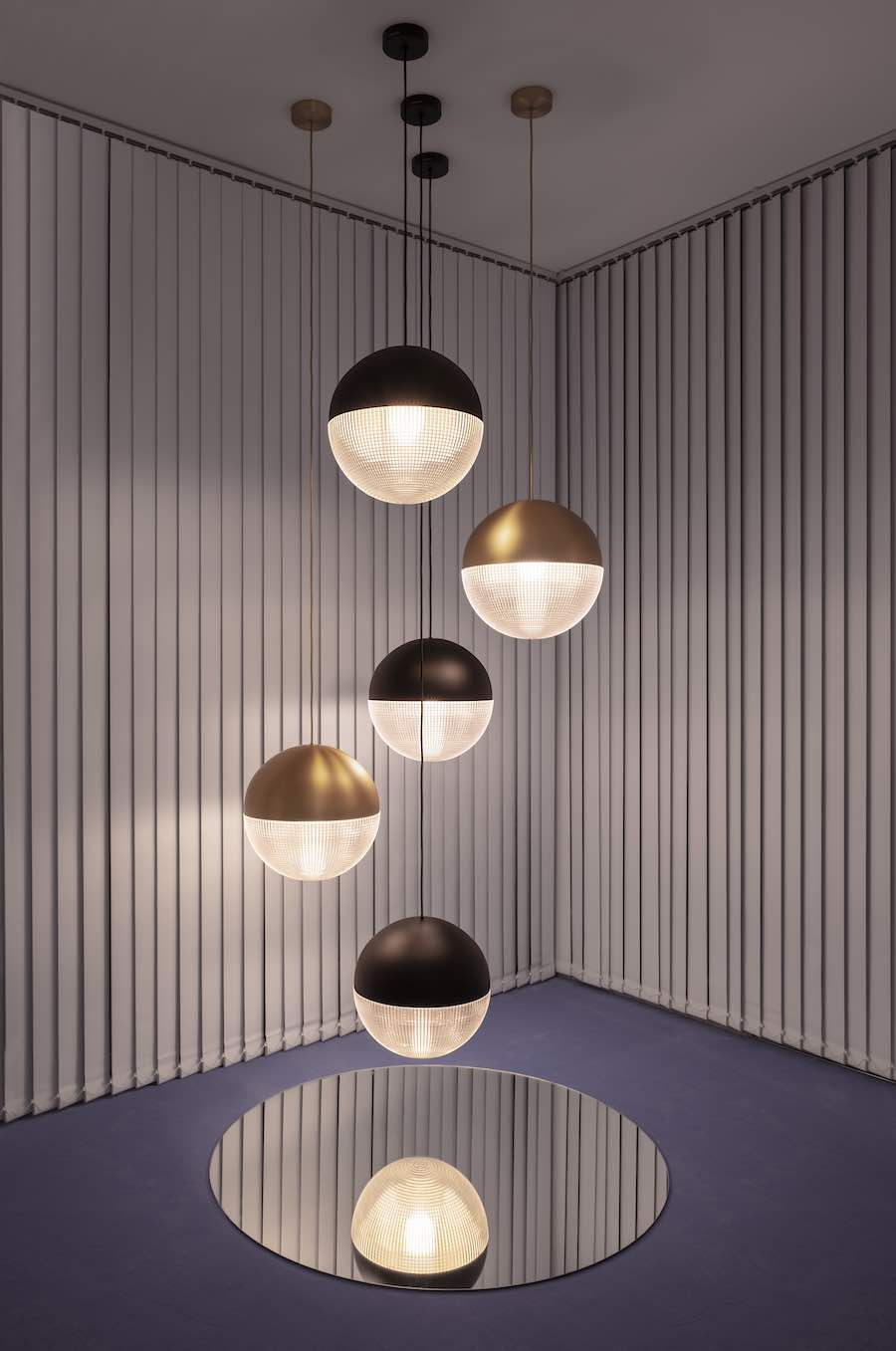 Lee broom's OBSERVATORY stellar-inspired lighting collection shines in London - Photo: courtesy of Lee Broom.