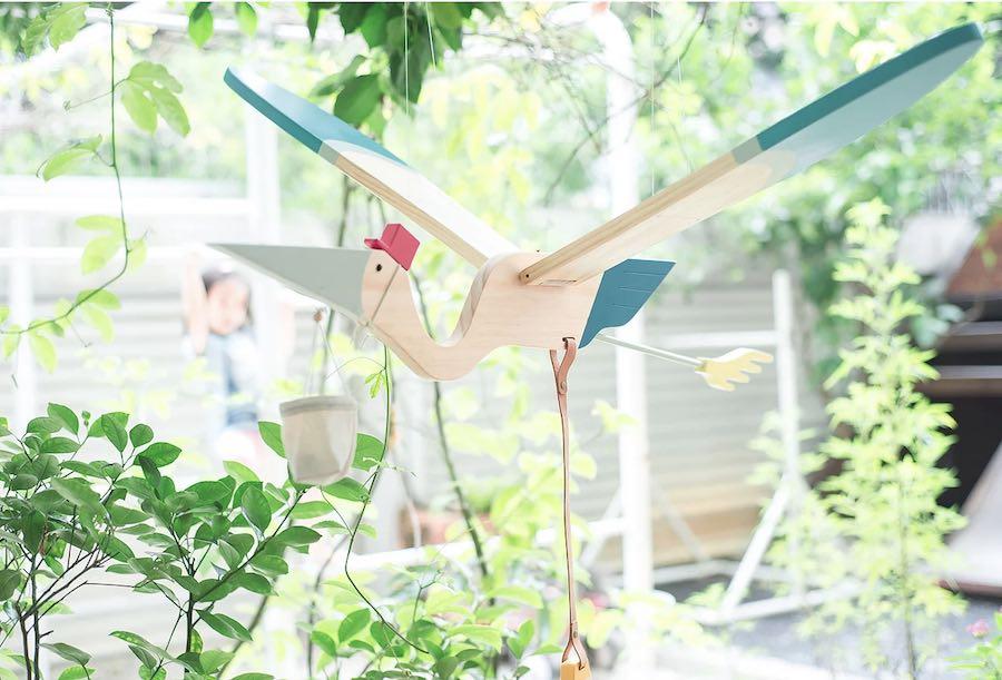 6 brilliant kids designs on show at Maison Objet 2018 - Stork by Eguchi Toys.