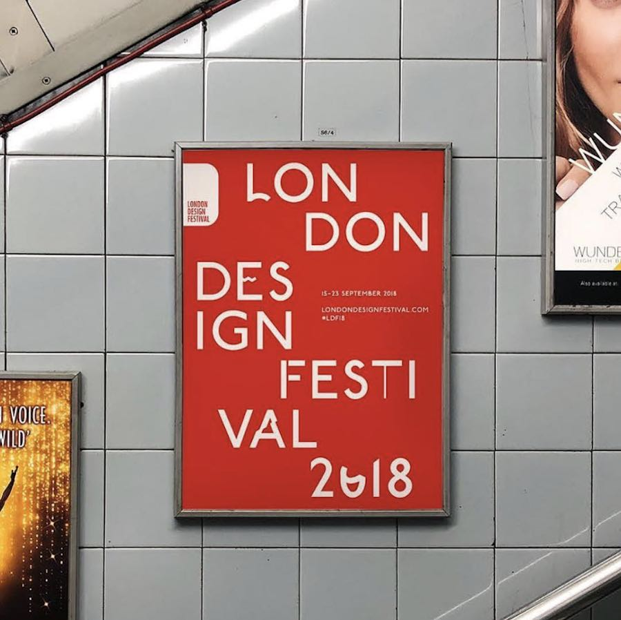 London Design Festival 2018 - Photo via IG follow @pentagramdesign