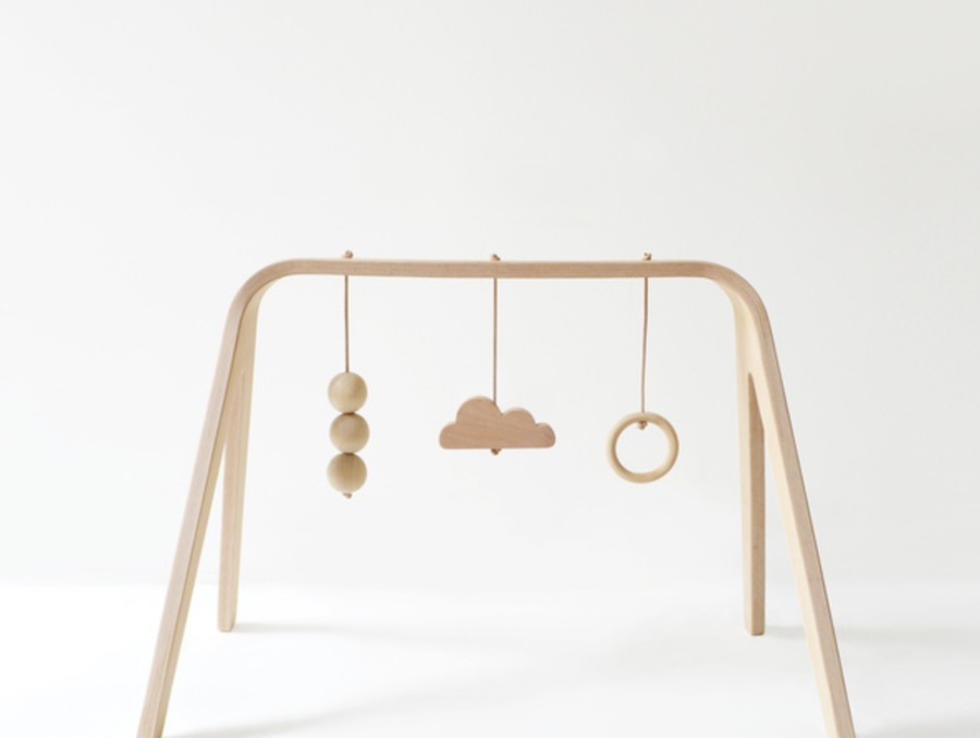The Baby Play Gym by Mum and Dad Factory - Ph. by Mum and Dad Factory.