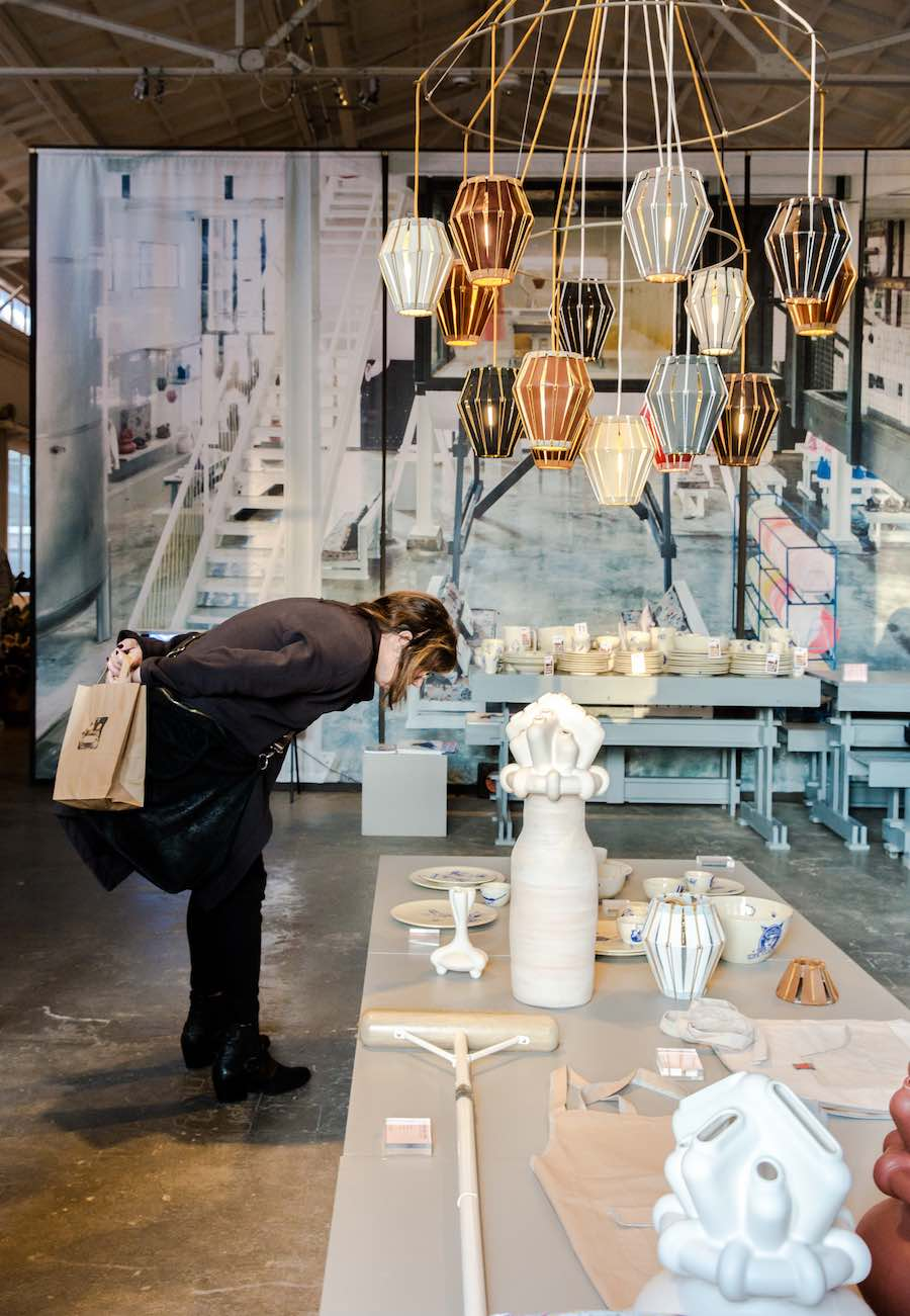 Designing Labour, design with meaning by Social Label @ Piet Hein Eek Factory - Courtesy of Dutch Design Week 2018.