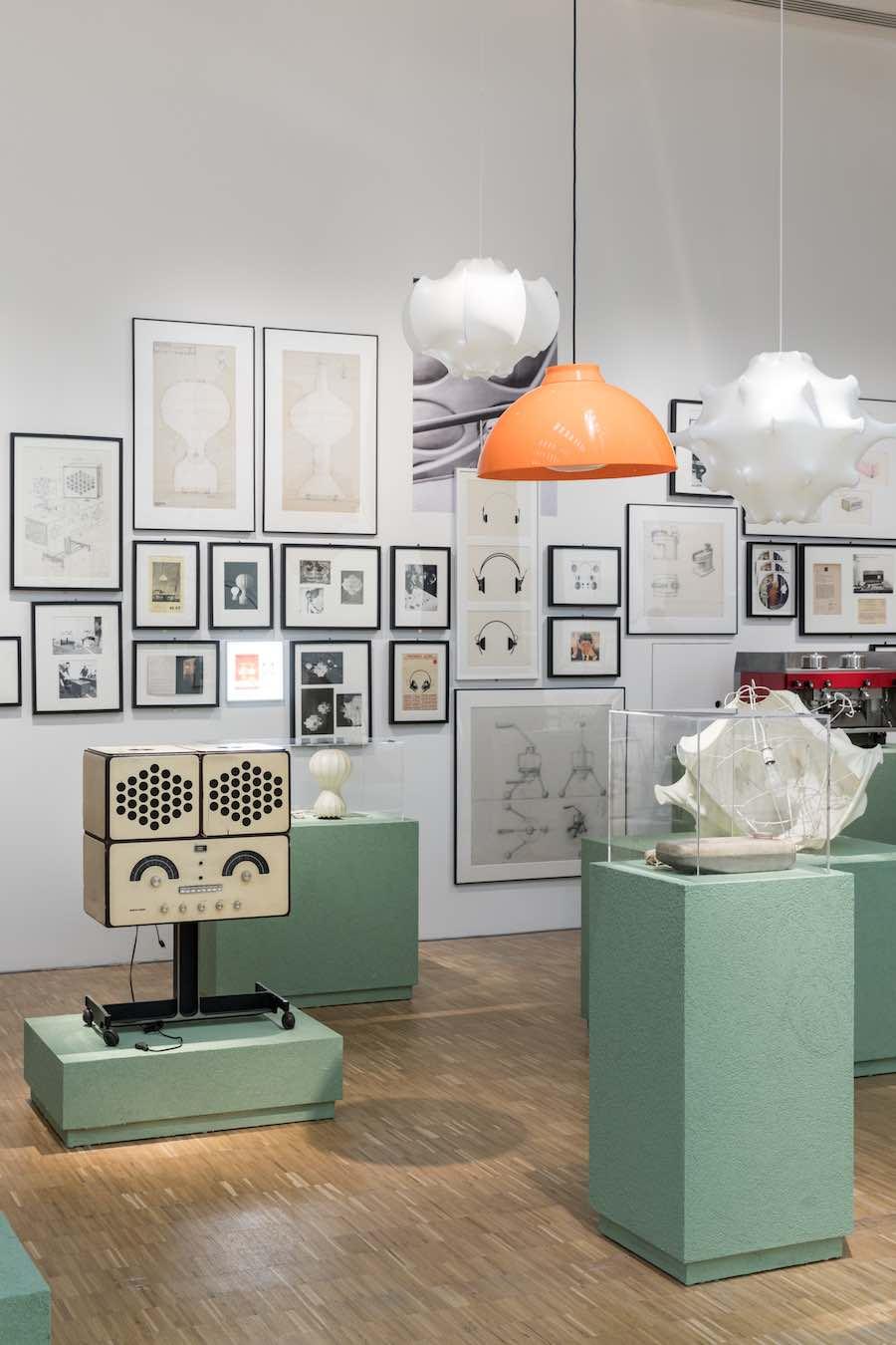 A CASTIGLIONI exhibition @ La Triennale of Milan - Photo by Gianluca Di Ioia, © La Triennale di Milano.