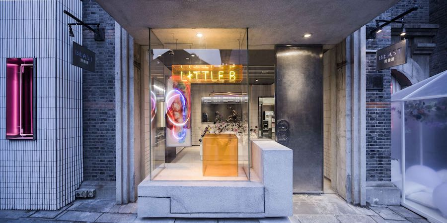 Neri & Hu 'Little B' convenience store - Photo by Shen Zhonghai.