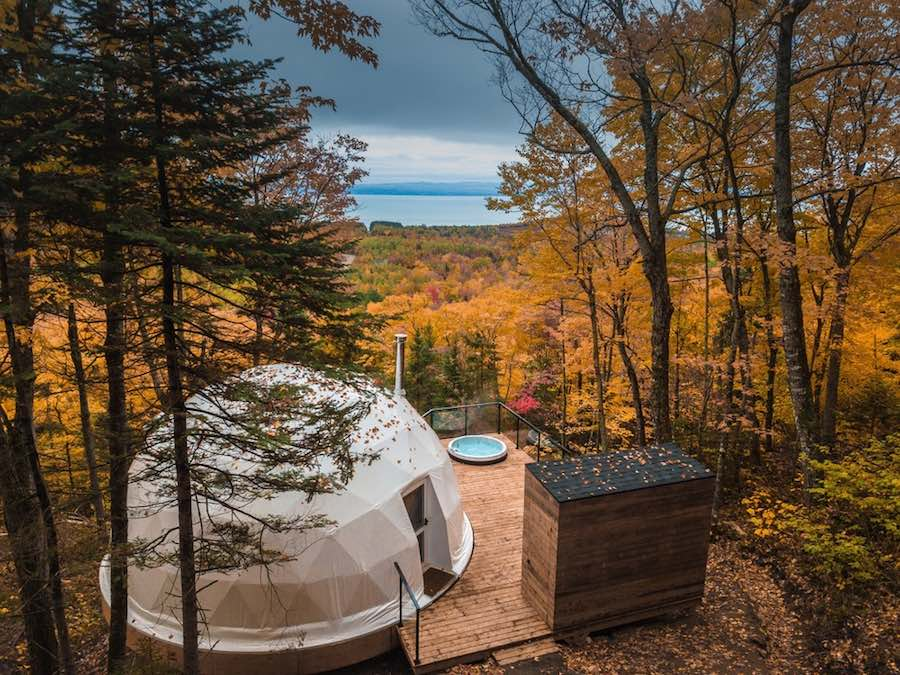 Bubble tree-suites in Quebec