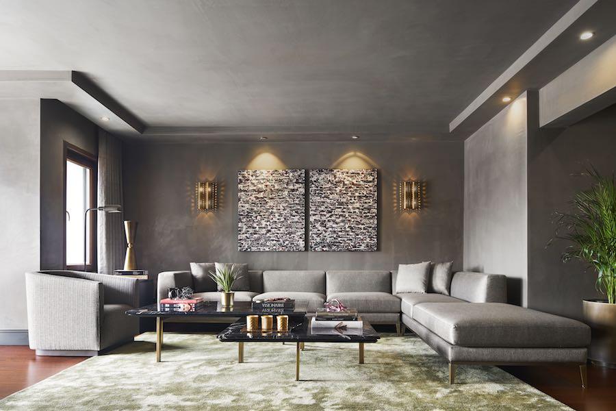 Sami Savatli posh residence in Istanbul - Photo: courtesy of Savatli Architects.