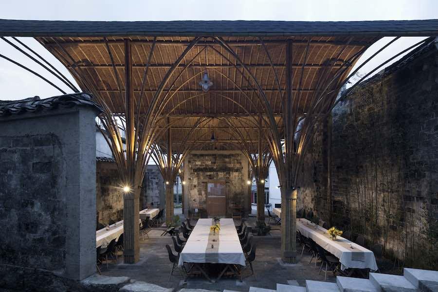 Village Lounge of Shangcun by SUP Atelier Location: Jixi, China: Xia Zhi.