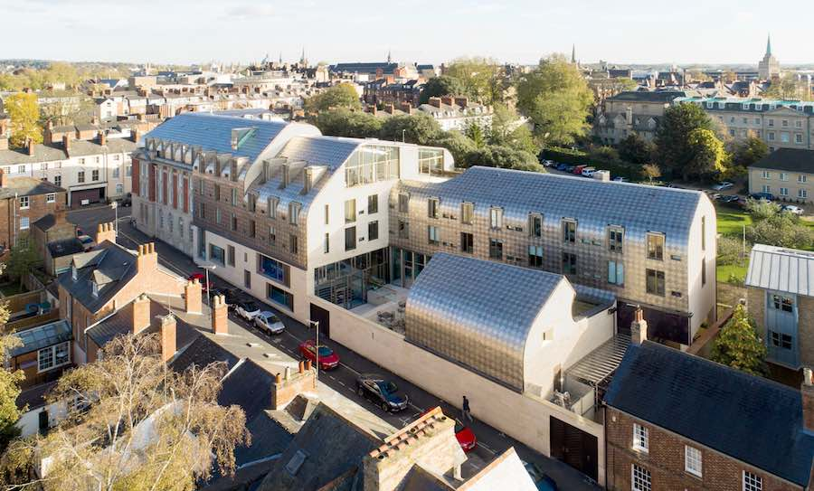 Exeter College Cohen Quadrangle by Alison Brooks Architects @ Oxford, United Kingdom. © Alison Brooks Architects.