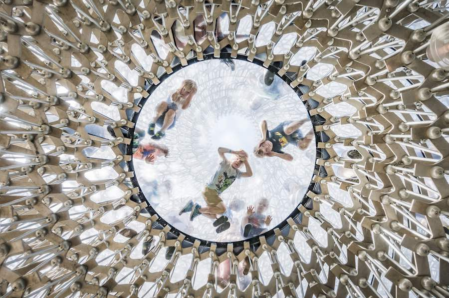 Architectural Photography Awards 2018 - BiU - The Hive at the Royal Botanic Gardens, Kew, UK by Wolfgang Buttress. © Omer Kanipak