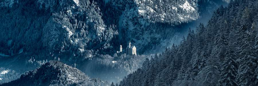 Architectural Photography Awards 2018 - SoP - © Dirk Vonten. ImageCastle Neuschwanstein in winter.