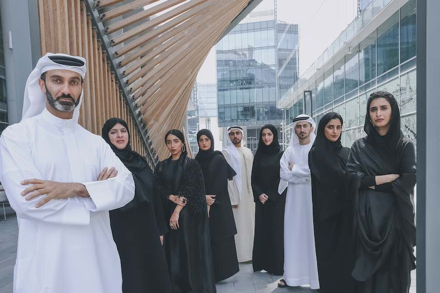D3 EMIRATI DESIGNERS - Courtesy of Dubai Design Week 2018.