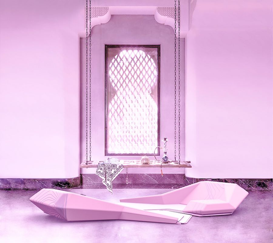 Sana Yousif Alabdulwahed @ Saudi Design Week 2018.