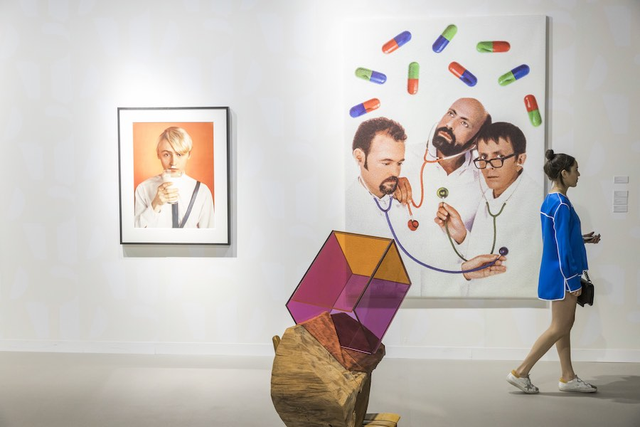 Art Basel - Galleries, Mitchell Innes and Nash. © Art Basel.