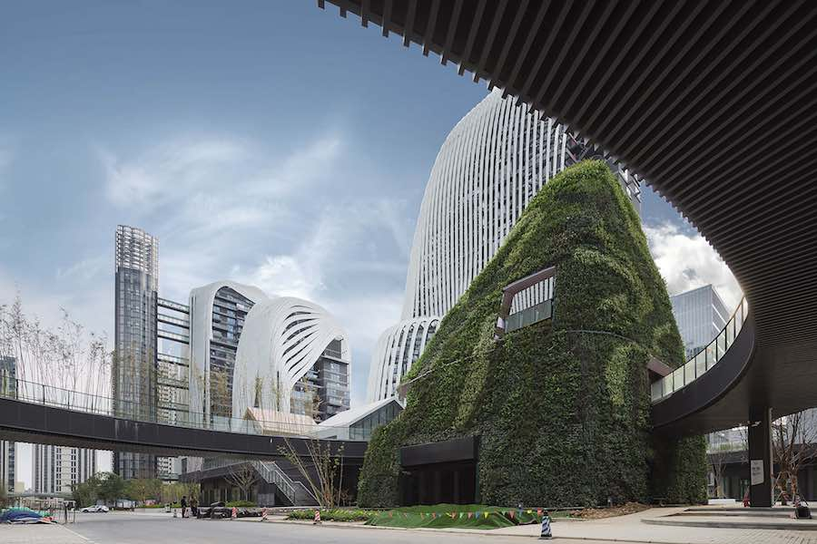 Nanjing Zendai Himalayas Center by MAD Architects - Photo by CreatAR.