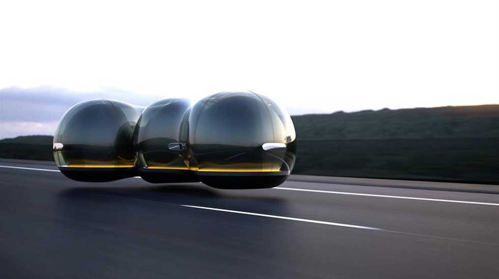 The Float Concept Vehicle; designed by Yuchen Cai, University of the Arts London for Renault Car of the Future Contest (France); Courtesy of Renault.