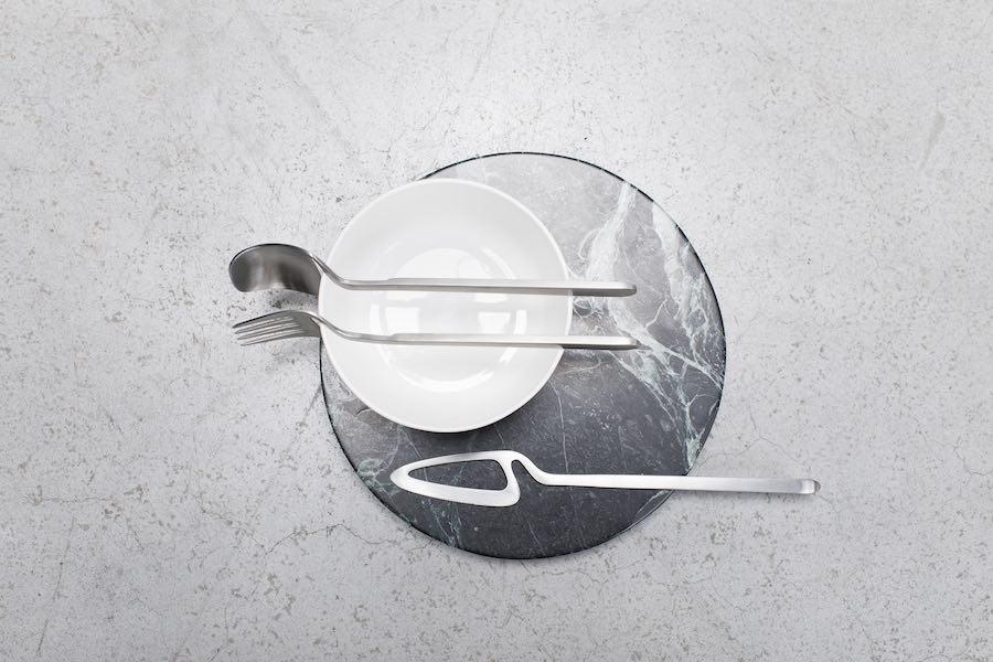 Skeleton Tableware by nendo for Valerie Objects - Photo by Valerie Objects