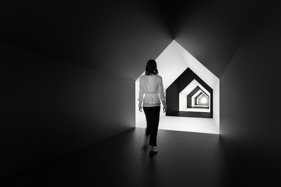 ESCHER x NENDO | BETWEEN TWO WORLDS exhibition - Photo by Takumi Ota. Courtesy of nendo.