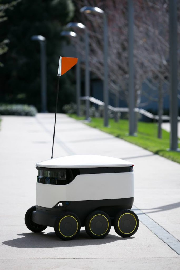 Starship Autonomous Delivery Robot; Starship Technologies (San Francisco, CA) - Photo by Starship Technologies.