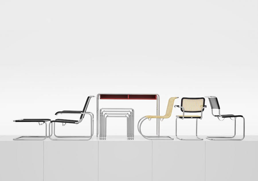 Bauhaus reloaded. Bauhaus 200 - Photo by Thonet.