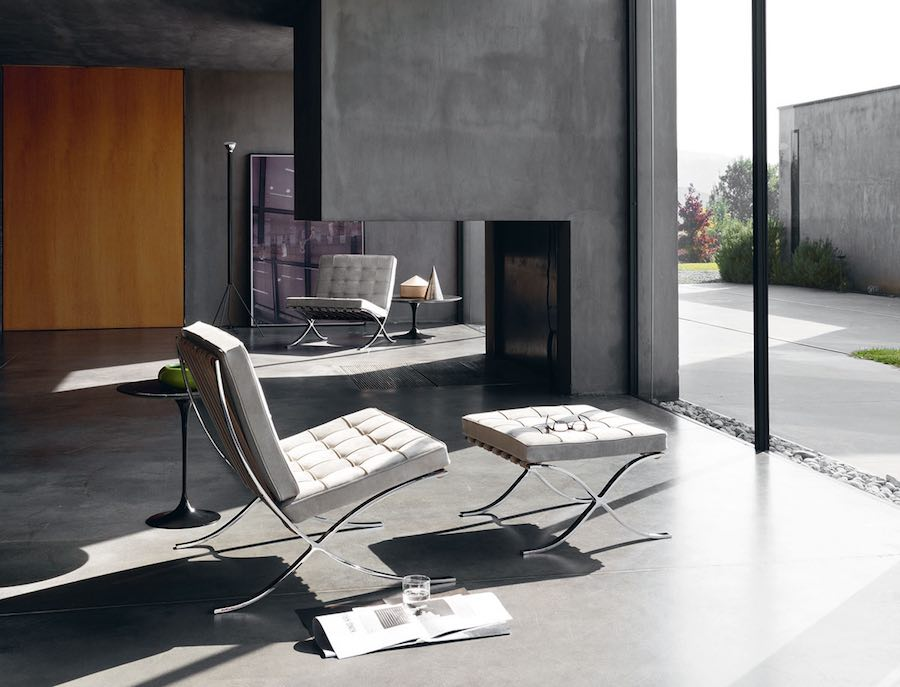 Bauhaus reloaded. Barcelona™ chair by Mies van der Rohe for Knoll - Photo by Knoll.