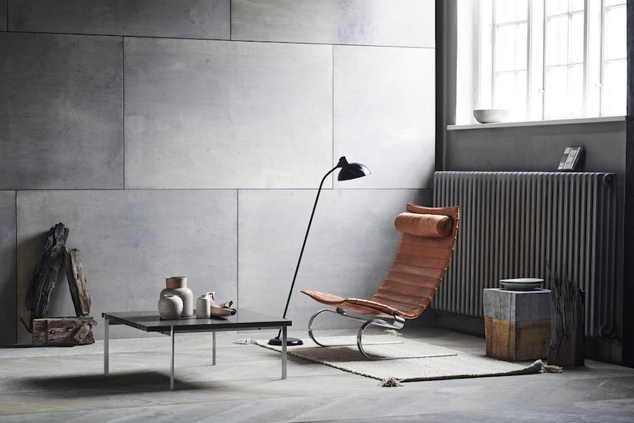 Bauhaus reloaded. KAISER idell™ floor lamp by Christian Dell for Fritz Hansen - Photo by Fritz Hansen