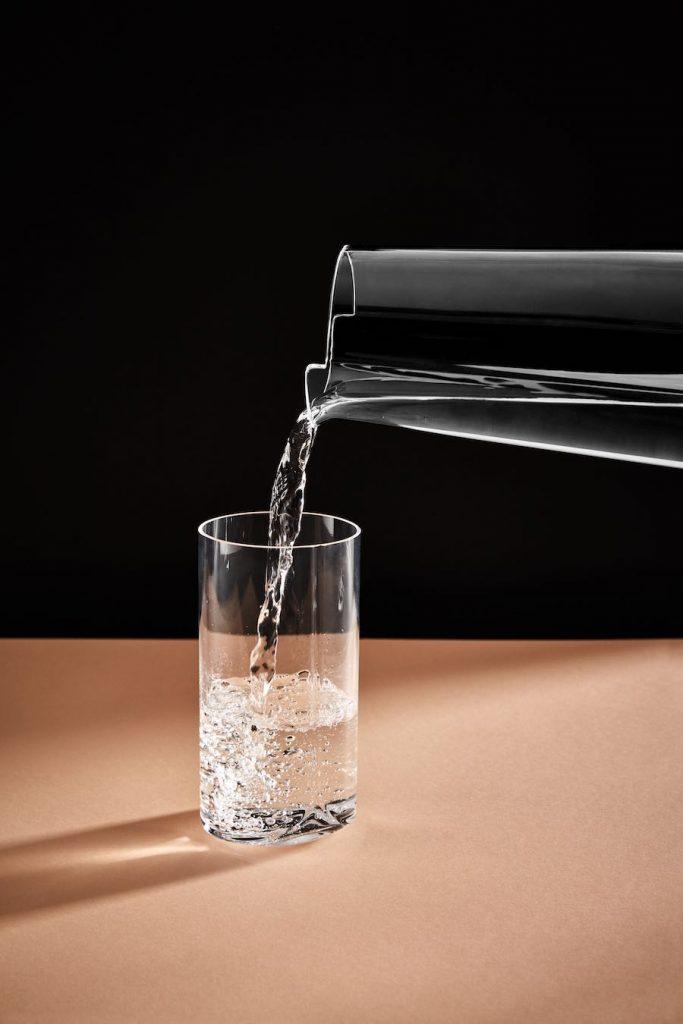 Zaha Hadid Design HEW glassware - Photo by Zaha Hadid Design