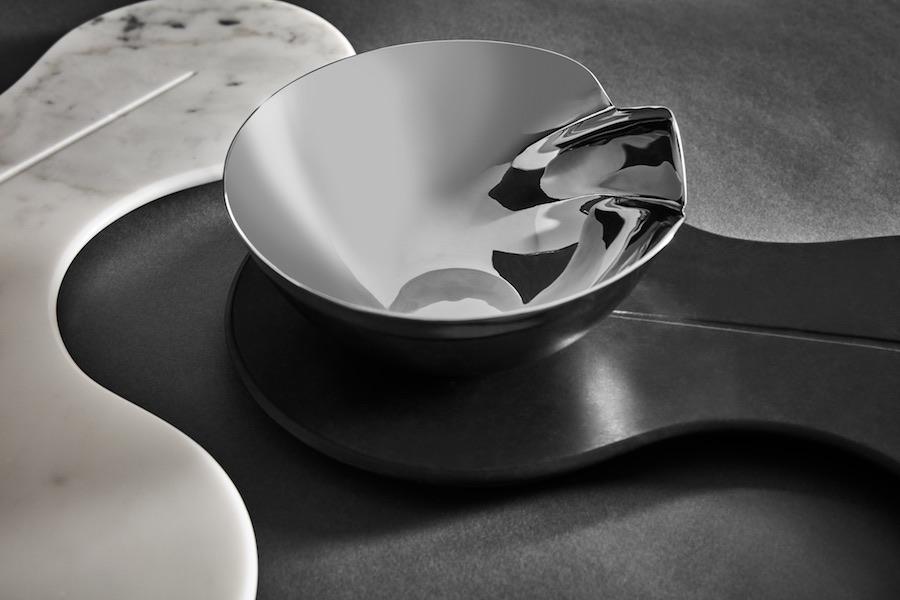Zaha Hadid Design CELL marble platter - Photo by Zaha Hadid Design