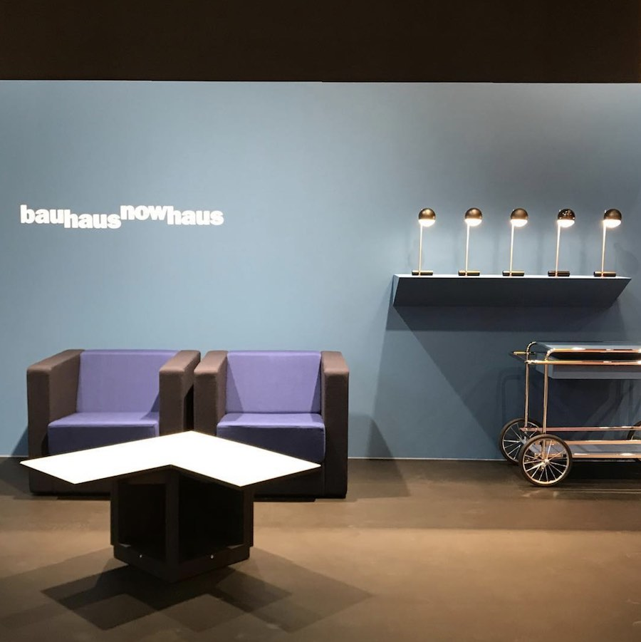 Bauhaus reloaded. Tecta @ IMM Cologne 2019 - Photo via IG - Follow @thonet_gmbh.