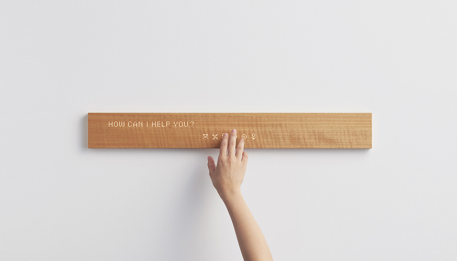 mui smart wood panel - Photo by mui Lab Inc