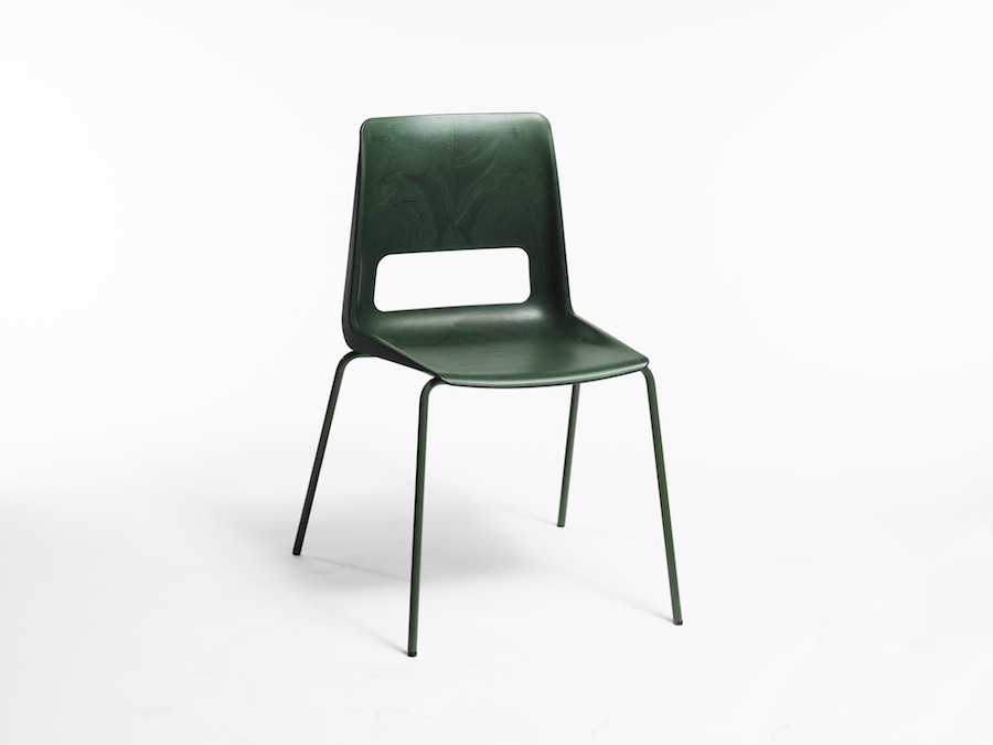 S-1500 up-cycled chair by Snøhetta and Nordic Comfort Products - Photo: ©Bjørnar Øvrebø, courtesy of Snøhetta.