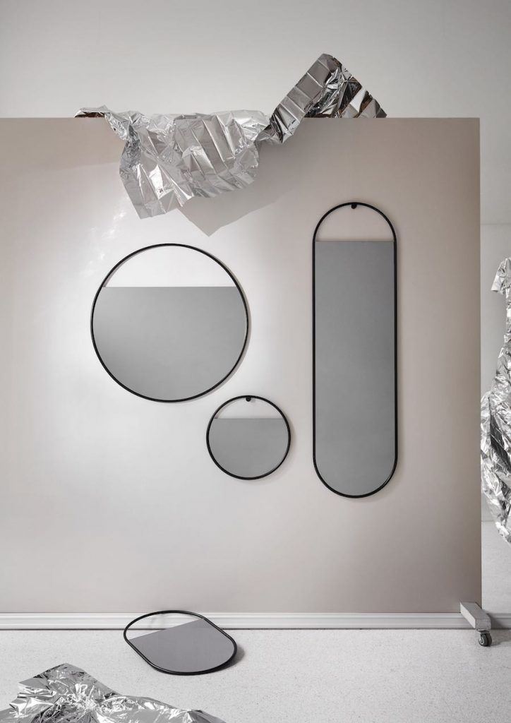 Peek mirror collection by Elina Ulvio - Photo by Chris Tonnesen, courtesy of Northern,