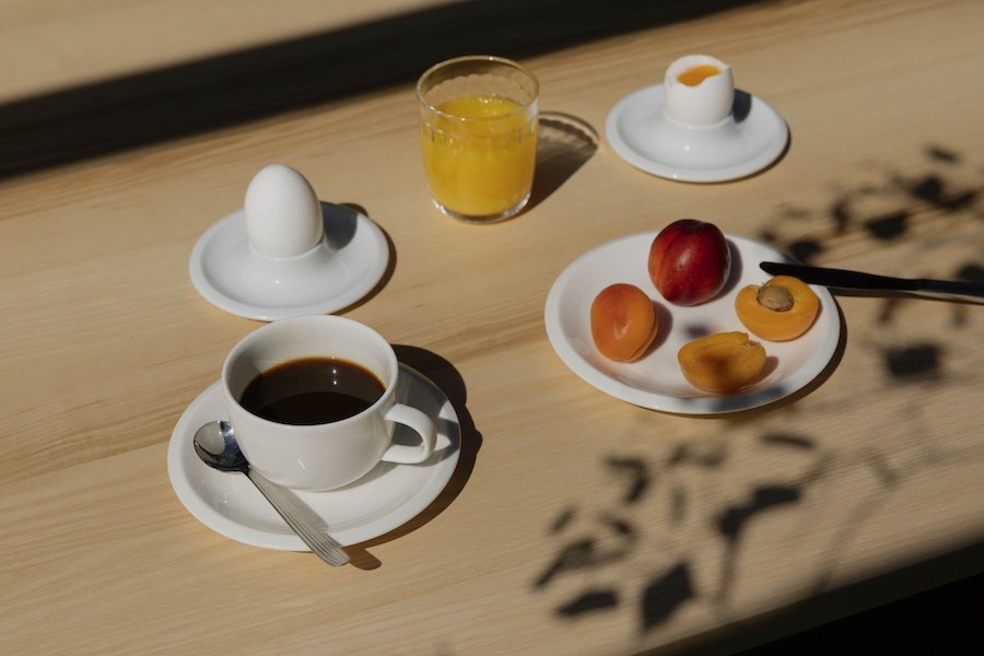 Raami tableware collectin by Jasper Morrison for Ittala.