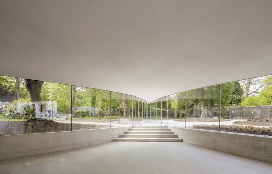 Junya Ishigami, Park Groot Vijversburg Visitor Center, Tytsjerk, The Netherlands, 2012 - © Junya Ishigami + Associates.