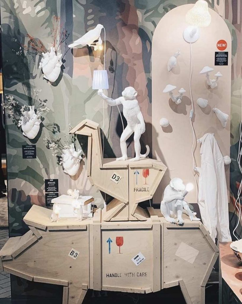 Seletti installation @ Maison&Objet 2019 - Photo via Instagram: follow @selettiworld