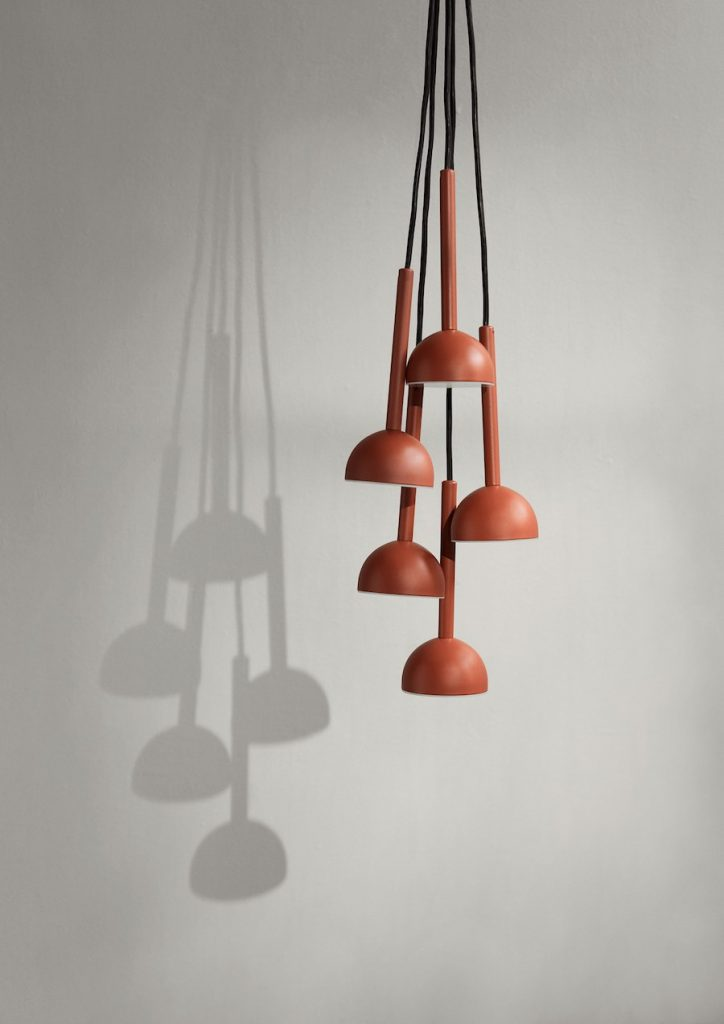 Photo by Chris Tonnesen, Blush pendant lamp by Morten & Jonas - courtesy of Northern.