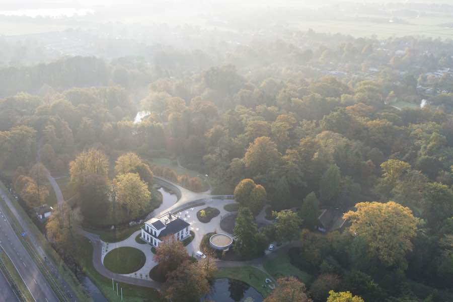 Junya Ishigami, Park Groot Vijversburg Visitor Center, Tytsjerk, The Netherlands, 2012, © Junya Ishigami + Associates.