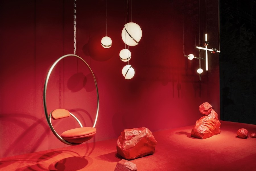 Lee Broom exclusive window concept for luxury department store NK Stockholm.