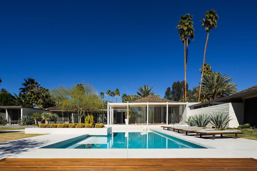 Abernathy House - Photo by Jake Holt; courtesy of Modernism Week.
