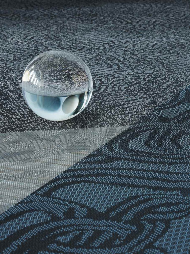 Bolon's DIVERSITY collection: Bouquet Topaz - All photos by Bolon.