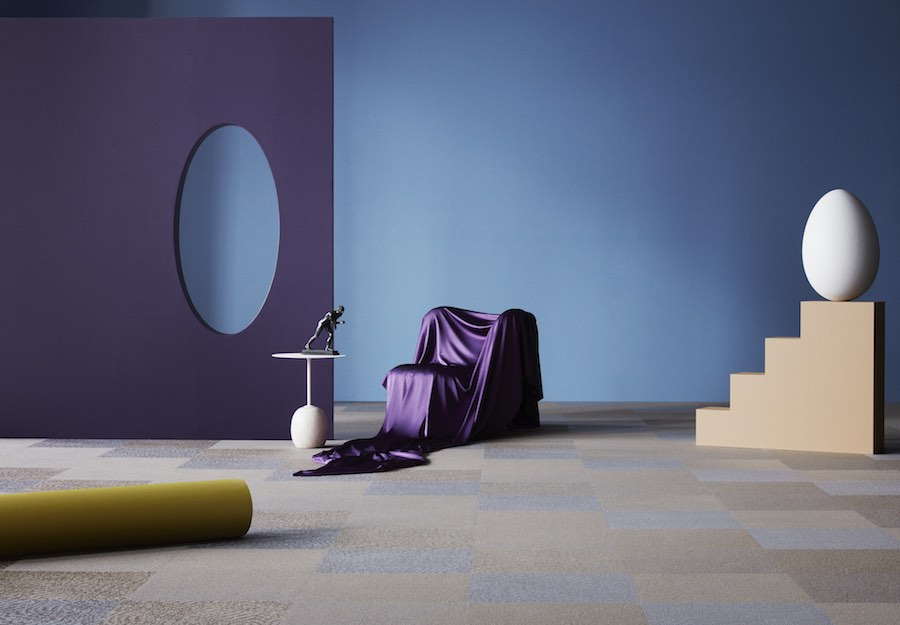 Bolon's DIVERSITY collection: Buzz Straw Pebble - All photos by Bolon.