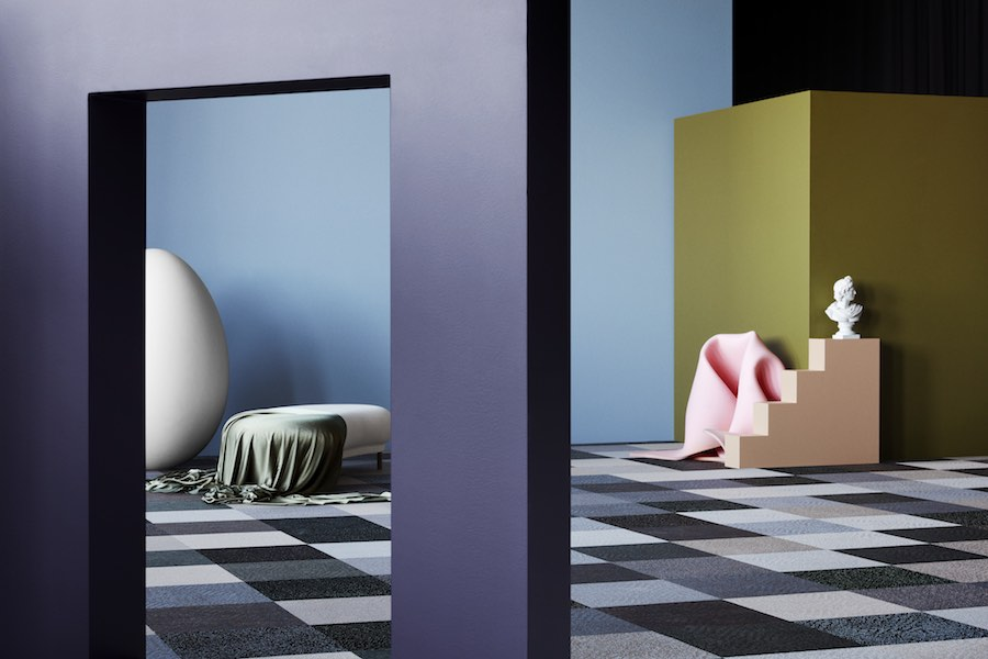 Bolon's DIVERSITY collection: Buzz all - All photos by Bolon.