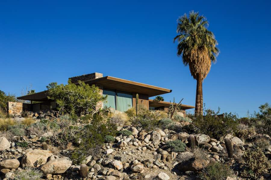 Edris House - Photo by Jake Holt, courtesy of Modernism Week.