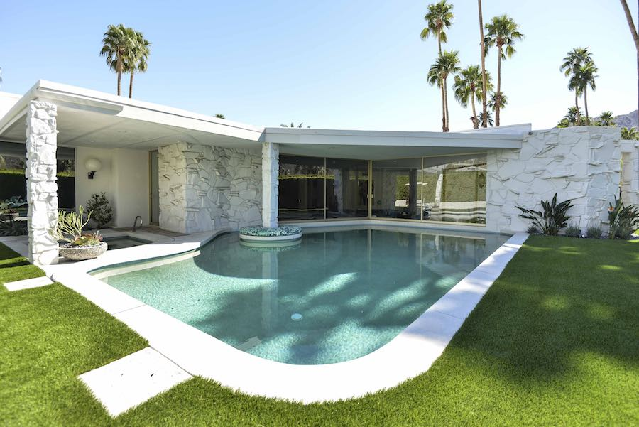 Gand Residence David A Lee - courtesy of Modernism Week.