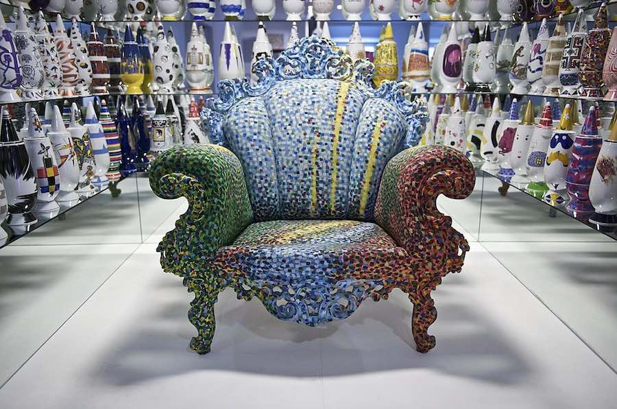 Proust chair by Alessandro Mendini for Cappellini - via Wikimedia, Creative Commons.