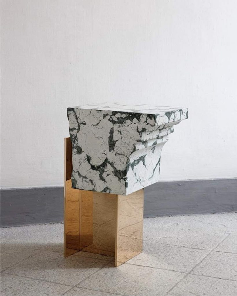 RUINS table by Roberto Sironi - Photo by Filippo Bambarghi.