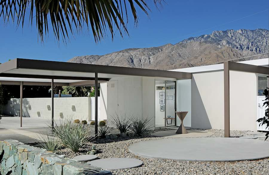 Steel House by Donald Wexler- Photo by Dan Chavkin; courtesy of Modernism Week.