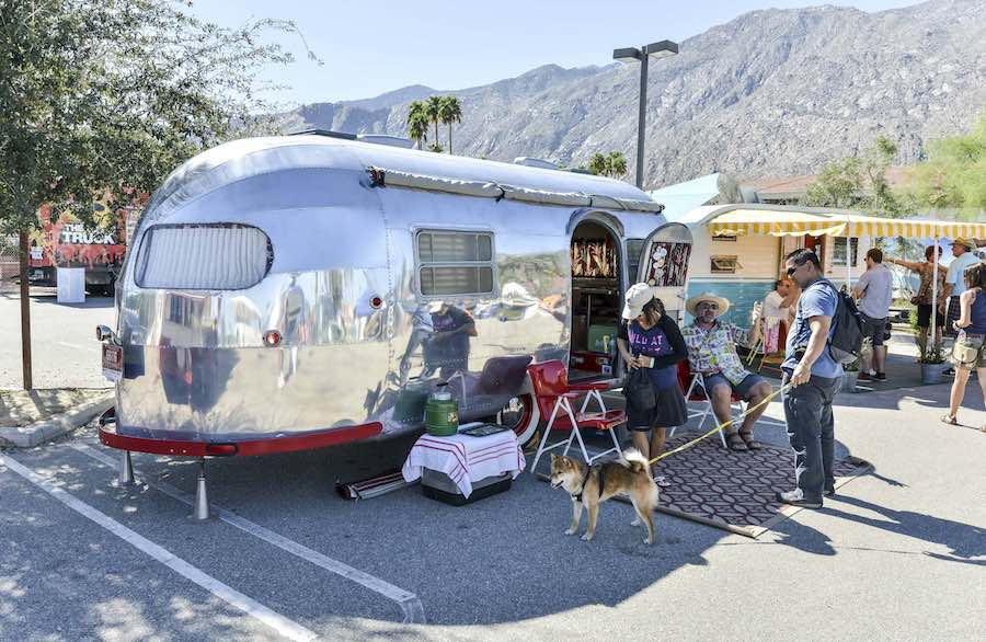 Vintage Trailer Show - Photo by David A Lee; courtesy of Modernism Week.