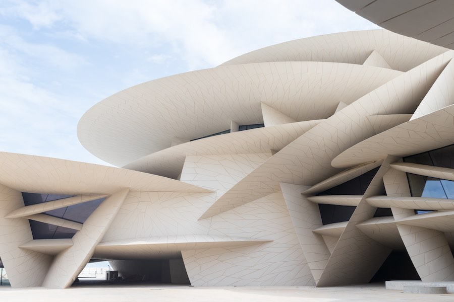 National Museum of Qatar - Photo ©Iwan Baan, courtesy of Ateliers Jean Nouvel and NMoQ.