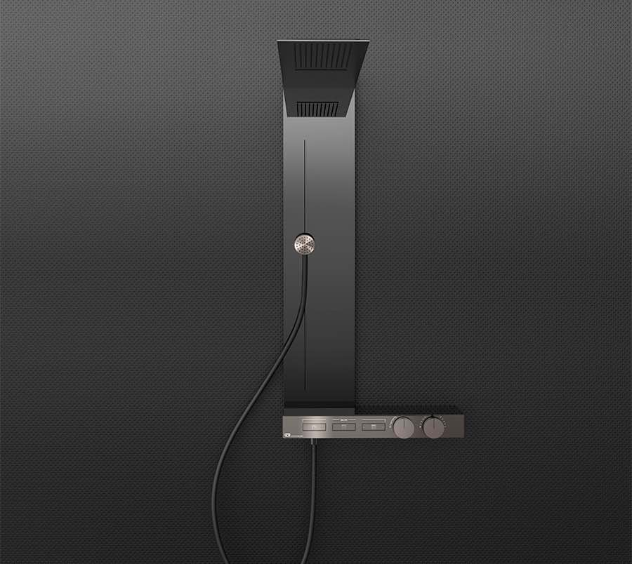 SH 2019. Gessi Hi-Fi collection - Photo by Gessi